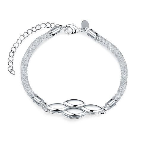 925 Sliver Bracelet high quality 925 sterling silver bracelets for