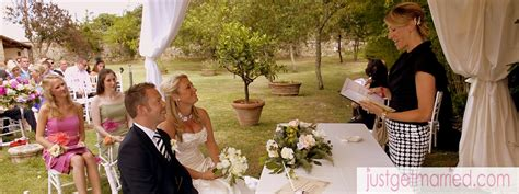 Wedding Blessing Venice by Outdoor Weddings In Italy Just Get Married The Italian
