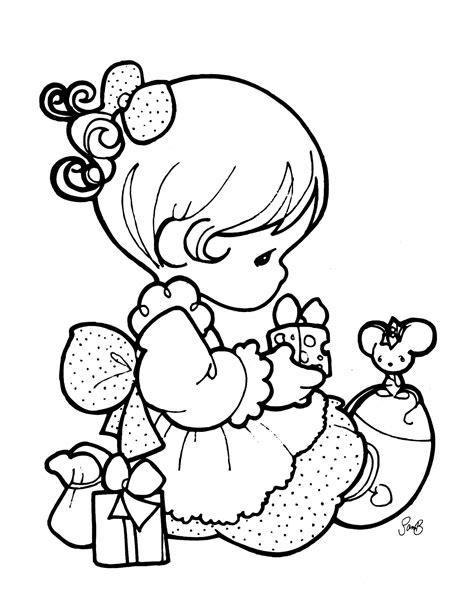 precious moments 4 coloringcolor com