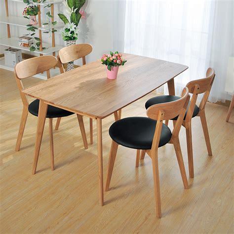 Meja Makan Minimalis 4 Kursi Kayu Bungkus Kotak Kerang arriba design arriba design desain baru dunia informasi