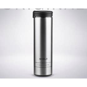 Termos Air Minum Stainless botol minum thermos stainless steel 500ml black