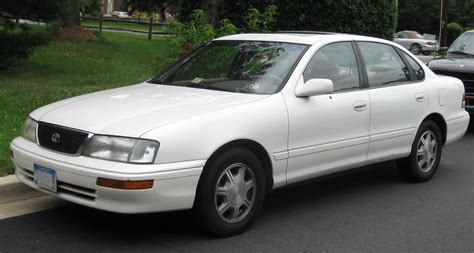 Toyota Avalon Dimensions 1995 Toyota Avalon Pictures Information And Specs