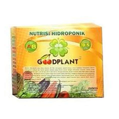 Jual Nutrisi Hidroponik Goodplant jual goodplant nutrisi ab mix sayuran daun 0 5 liter