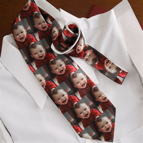 personalized photo tie giftsmate