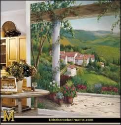 Tuscany Wall Murals Decorating Theme Bedrooms Maries Manor Tuscany Vineyard