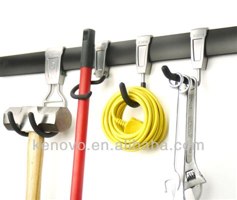 Garage Wall Hook System by Garage Storage System 6 Hook Kit Buy Garage Storage