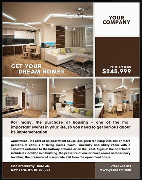 real estate flyer templates for photoshop 8 best free and premium real estate flyer templates by