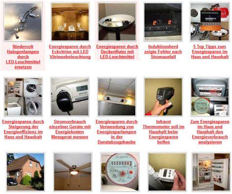 Energie Sparen Im Haus Und Haushalt