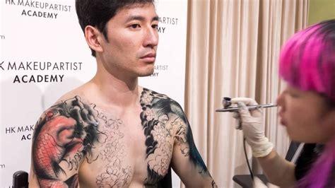 japanese tattoo artist youtube wabori traditional japanese tattoo bodypaint by hong kong