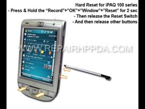 hard reset hp deskjet d2660 ipaq 110 hard reset hp classic handheld