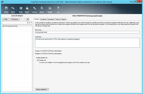 examples   force email format codetwo exchange rules pro users manual