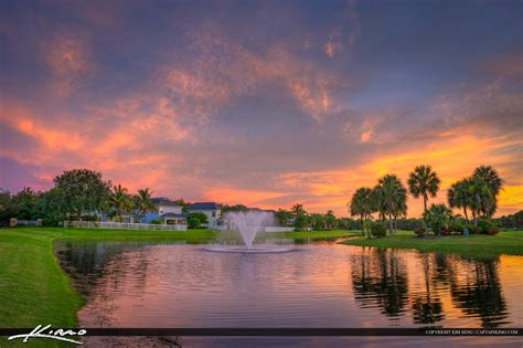 sunset course at country club jupiter real estate abacoa golf course sunset