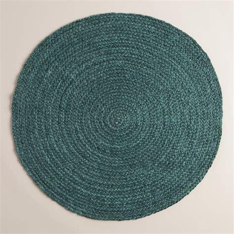 green jute rug green braided jute area rug world market