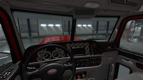 peterbilt 389 interior lights peterbilt 389 interior exterior rework v1 0 modhub us
