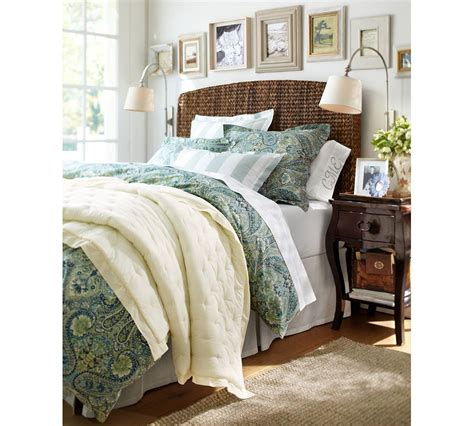 seagrass bed gorgeous pottery barn seagrass headboard on seagrass bed headboard pottery barn full