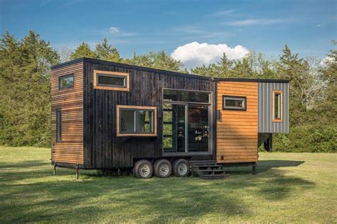 micro house tiny house town the escher by new frontier tiny homes