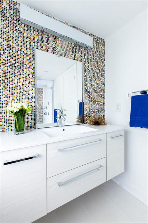 9 bathroom vanity ideas hgtv 9 bold bathroom tile designs hgtv s decorating design