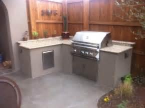 stucco outdoor kitchen photos