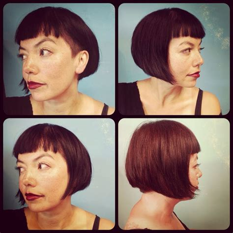 Pin By Tara Bergeron On - bob haircut with side the hair etc