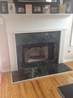 Green Marble Fireplace Makeover by Diy Fireplace Makeover Sloans Chalk Paint On