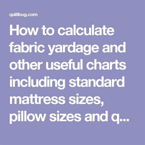 How To Calculate Yardage For Upholstery by 25 Best Ideas About Quilt Sizes On Quilt Size Charts Quilt Patterns And How Many