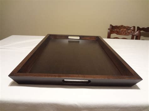 ottoman serving trays custom ottoman serving tray 19 x 27 choose your
