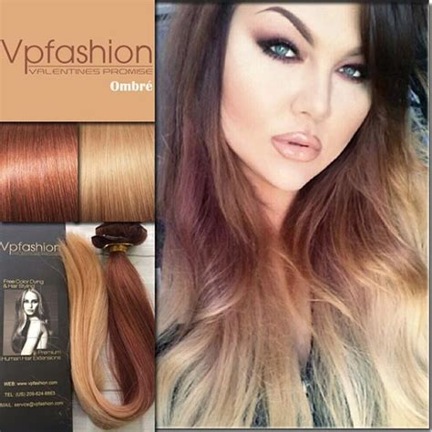 hair styles brown on botton and blond on top pictures of it 8 new ombre hair extensions ideas inspired by vpfashion