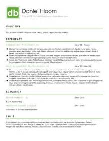 contemporary resume templates 15 modern design resume templates you can use today