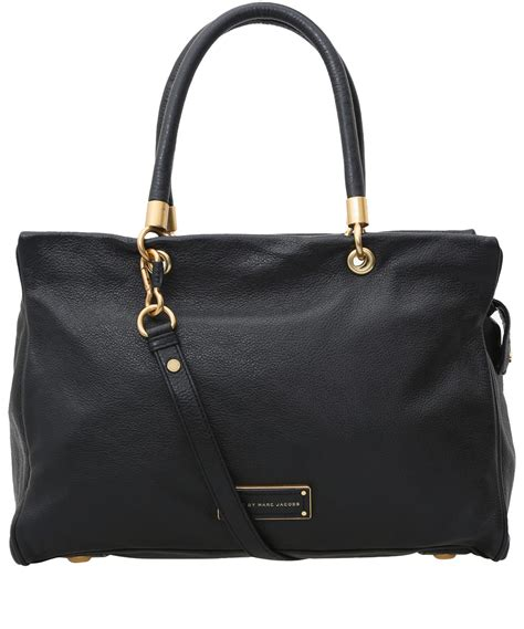 Marc Two Pocket Handbag by Marc By Marc Black To Handle Tote Bag In