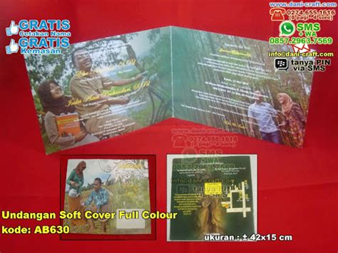 Soft Cover Plus Gantungan undangan colour souvenir pernikahan