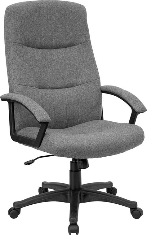 fabric office chairs flash furniture bt 134a gy gg gray fabric upholstered high