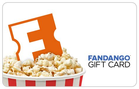 Movies Gift Card - fandango popcorn bucket gift card