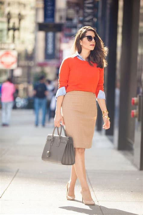 how to wear the high waisted pencil skirt the definitive