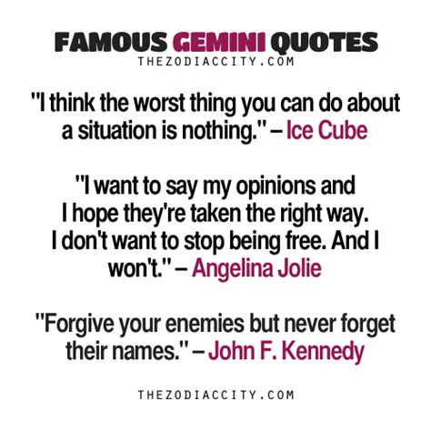 famous gemini quotes ice cube angelina jolie