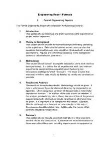 Engineering Lab Report Sample Best Photos Of Engineering Report Examples Engineering