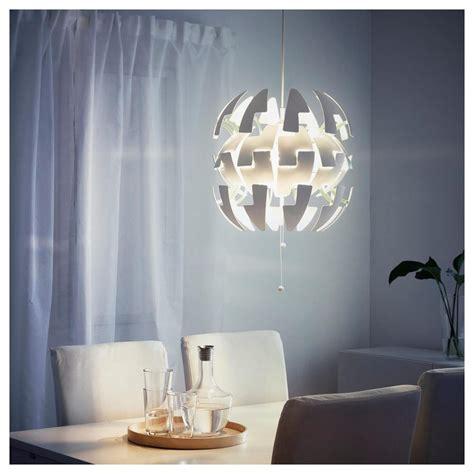 ikea ps  suspension light white turquoise