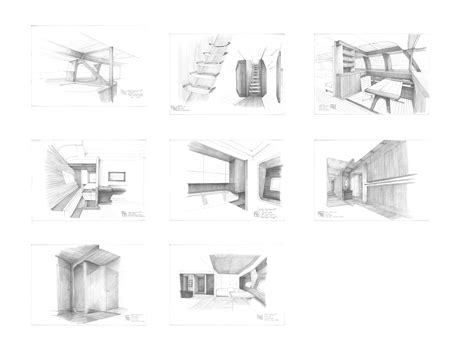 drawing in process christian liaigre interior designer drawings of the alloy