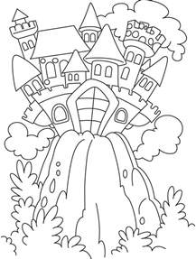 Fairytale Coloring Pages coloring pages tales coloring home