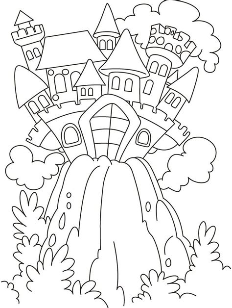 Coloring Pages Fairy Tales Coloring Home Fairytale Colouring Pages