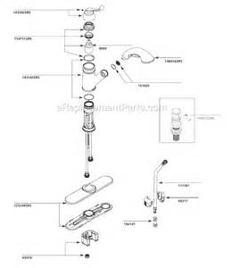 moen kitchen faucet parts diagram moen ca87007srs parts list and diagram ereplacementparts
