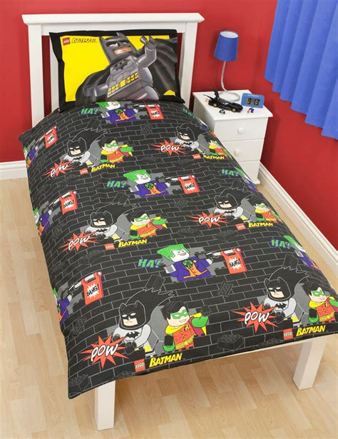 lego batman bedding lego batman cards single duvet panel quilt cover boys