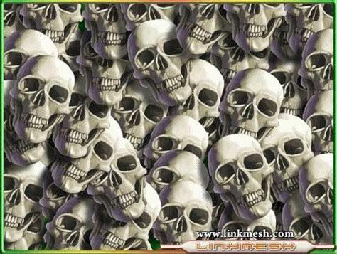 imagenes de calaveras juntas muchas calaveras zombis