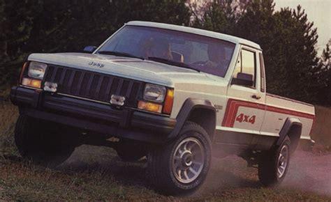 1986 jeep comanche class of 1986 jeep comanche hemmings daily