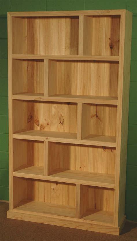 zig zag large bookcase