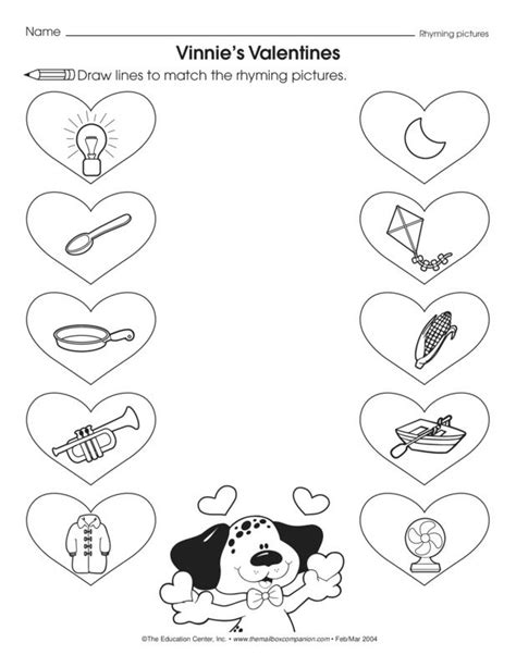 7 Plans For The Valentines Day by Vinnie S Valentines Lesson Plans The Mailbox