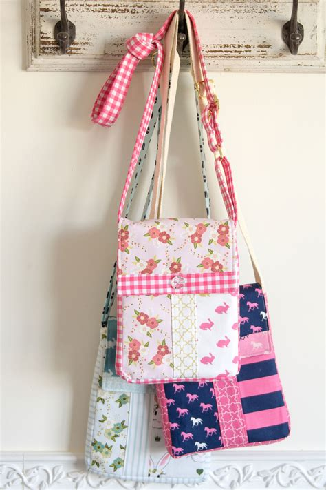 pattern sewing bag cross body bag sewing pattern the polka dot chair
