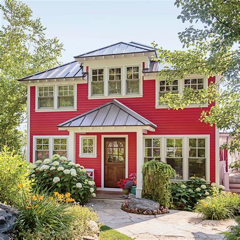 Design Basics House Plans Colorful Lake Michigan Cottage Coastal Living