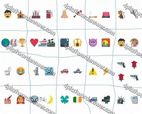emoji quiz level 40 100 pics emoji quiz 5 level 41 60 answers 4 pics 1
