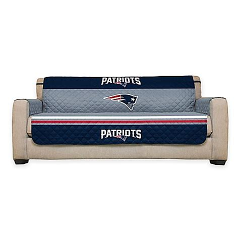 nfl futon cover buy nfl new england patriots sofa cover from bed bath beyond