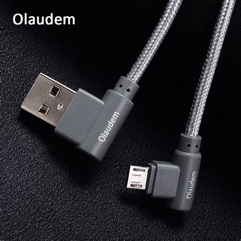 Mobile Phone Cable olaudem mobile phone cables 90 degree cable micro usb